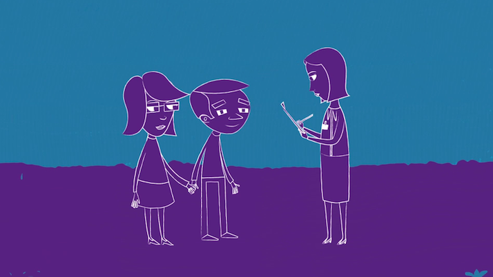 charity information animation