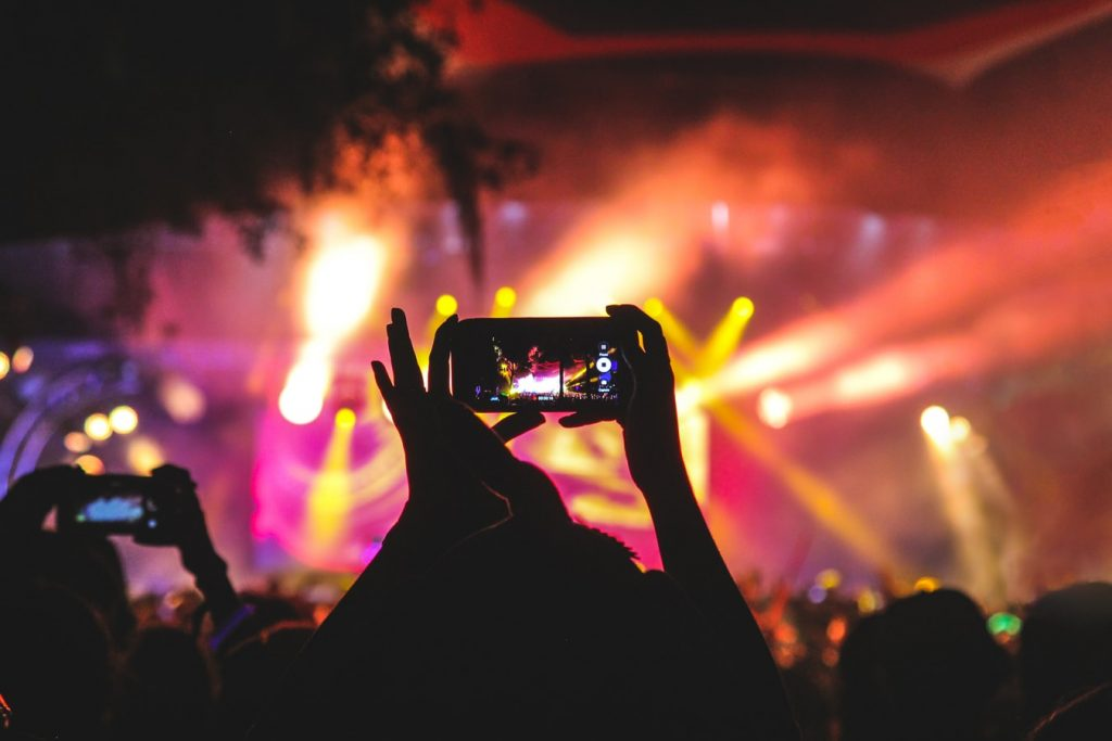 promote video at events